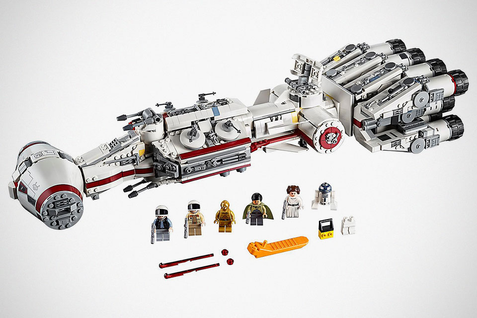 1,768-Piece LEGO Star Wars Tantive IV Set Arrives This May For $200