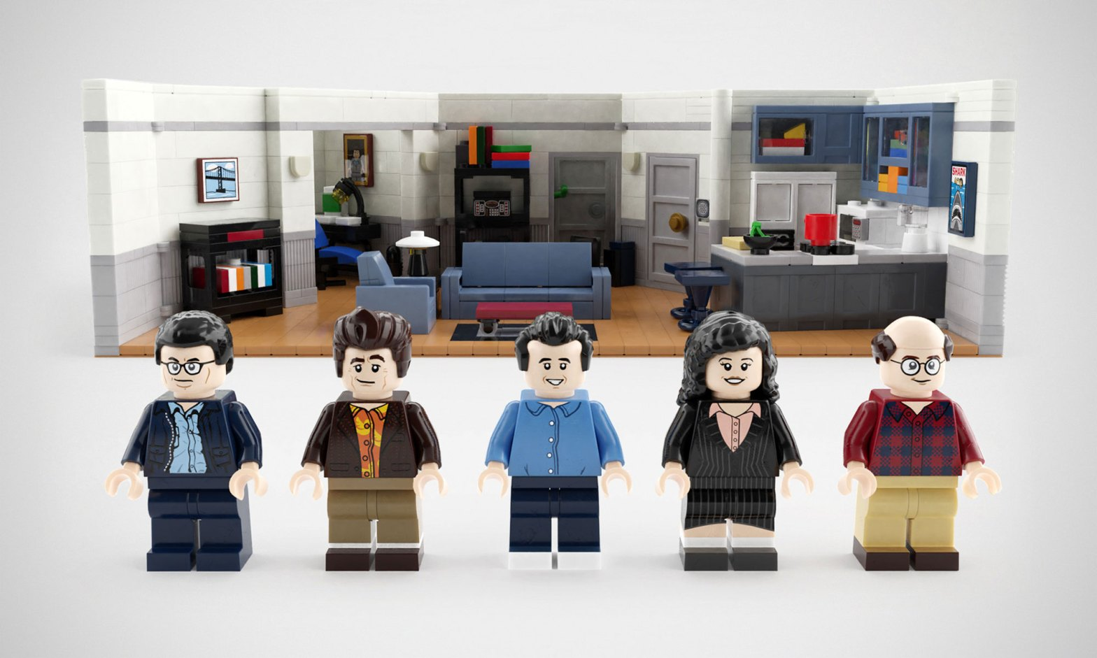 This LEGO Seinfeld 30th Anniversary Set Needs Your For A Chance To