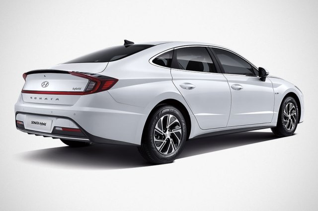 Hyundai Sonata Hybrid Sedan