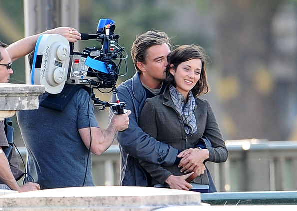 Inception-Foto-dal-set-Leonardo-DiCaprio-Marion-Cotillard-8