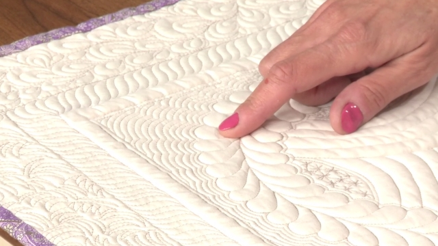 Stunning Quilt Background Fillers And Stitches National