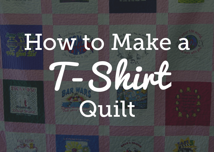 T Shirt Quilt Directions