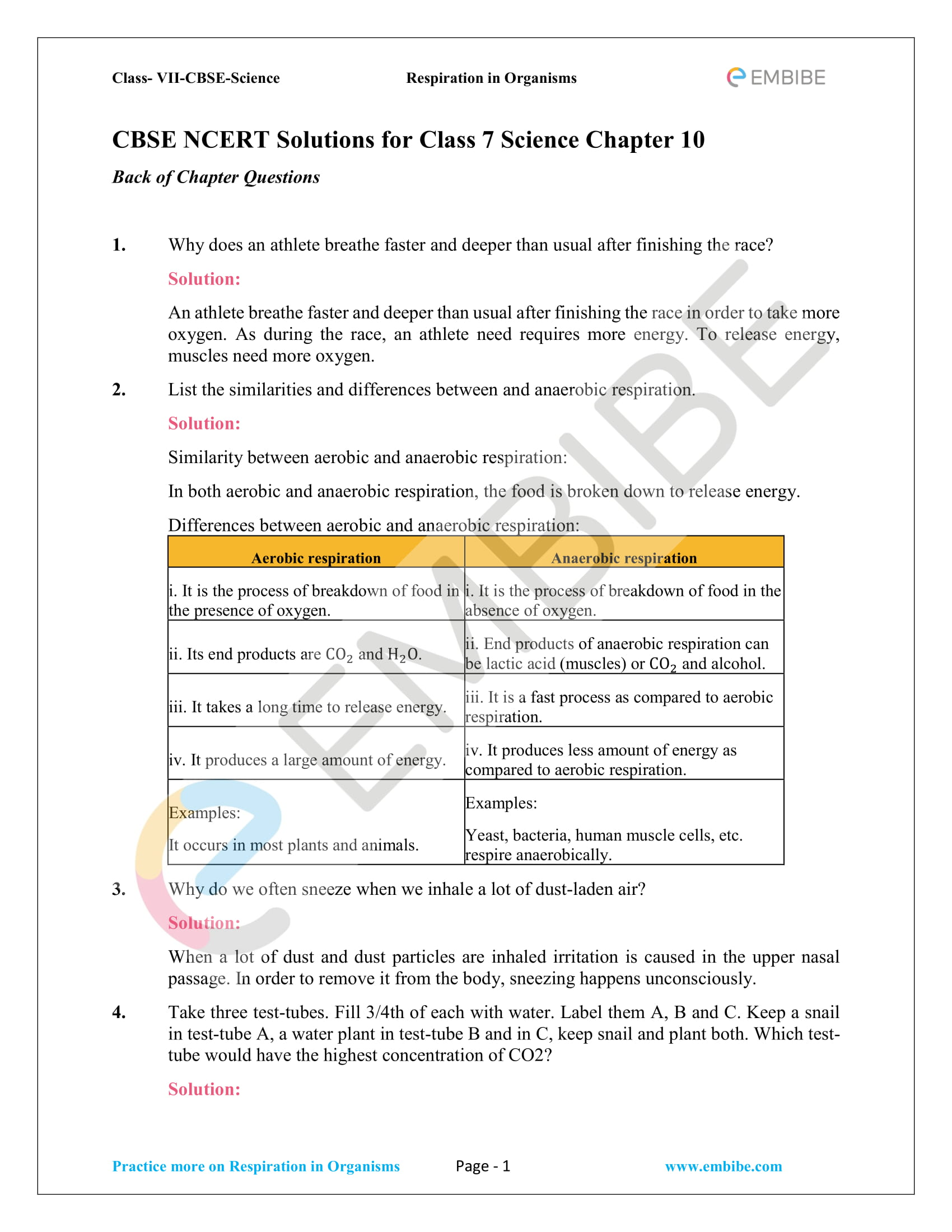 Ncert Solutions For Class 7 Science Chapter 10