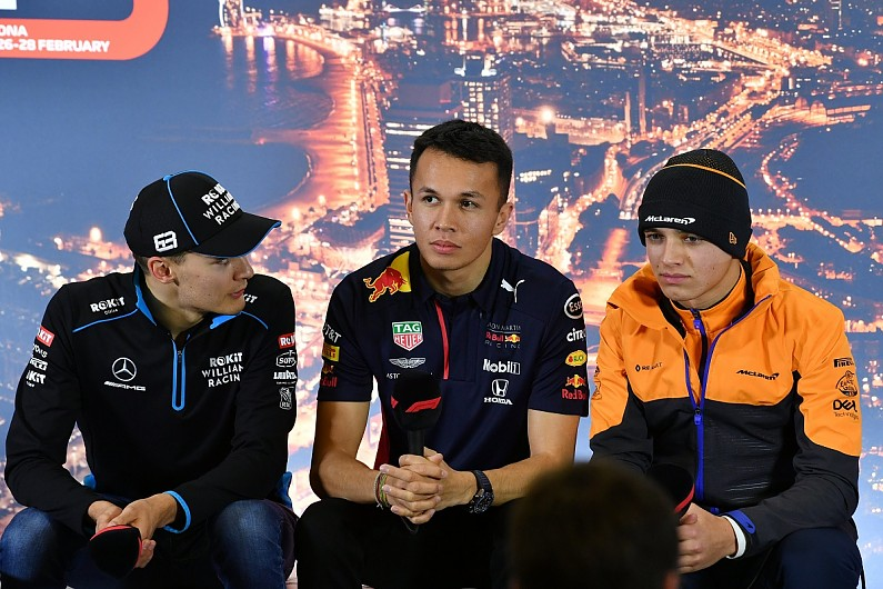 "Albon: F1 drivers won't lose ""spec connection with fans from sim racing"