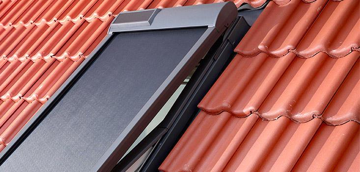 store exterieur pare soleil telecommande velux msl motorise a energie solaire
