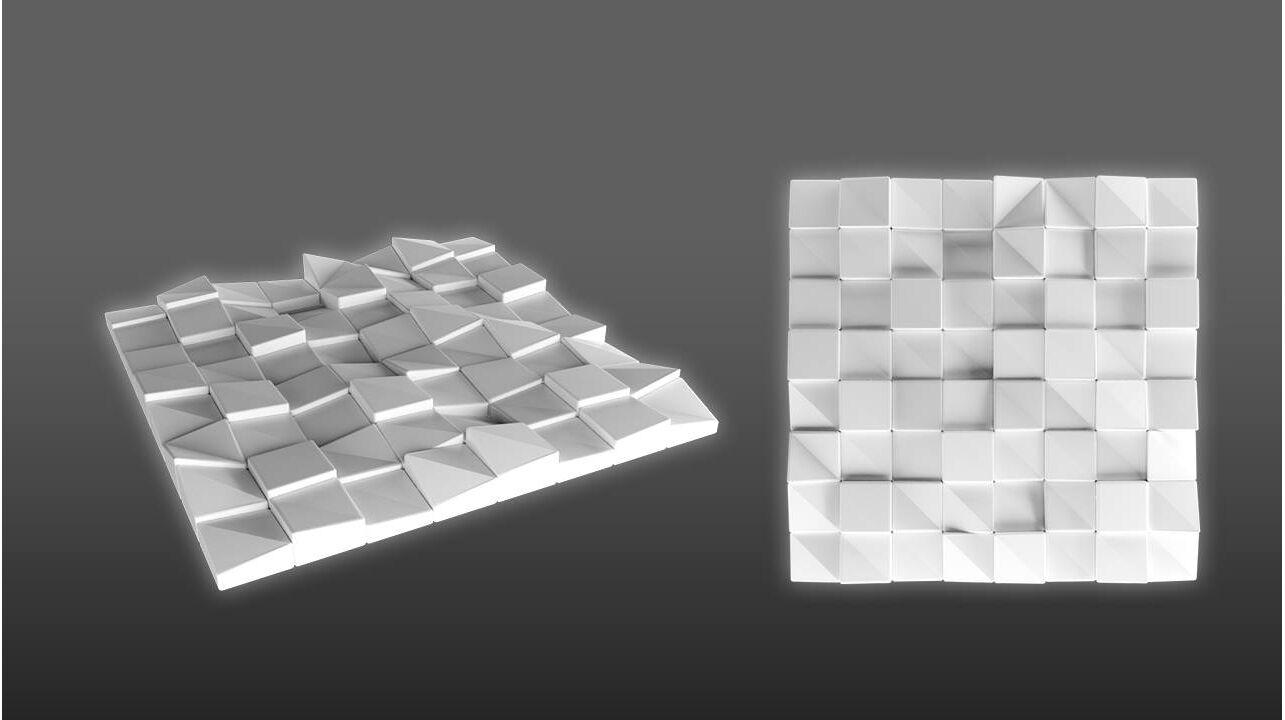3D Wandpaneele QUADRAT» Wandverkleidungen online kaufen