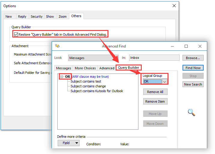 How To Search (partial Word) With Wildcard In Outlook?