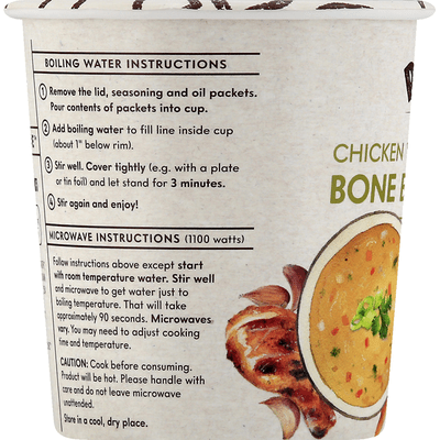 how to cook chicken broth in microwave