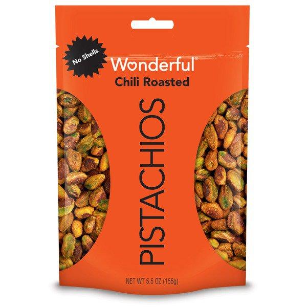 Wonderful Pistachios No Shells, Chili Roasted