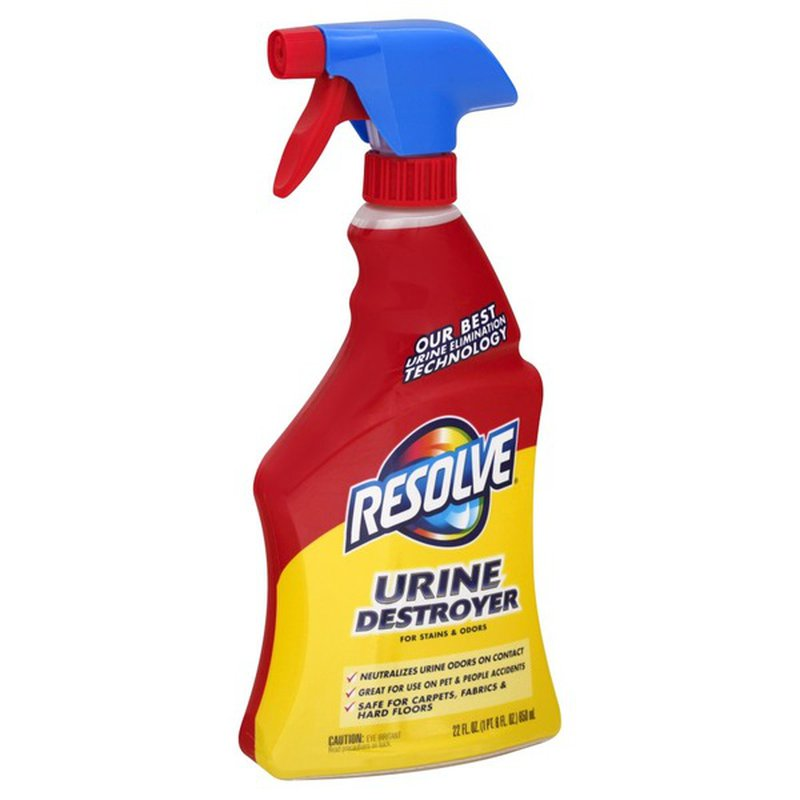 Resolve Carpet Cleaner Urine Destroyer 22 Oz Instacart