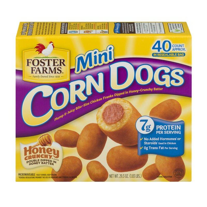 foster farms corn dogs mini honey