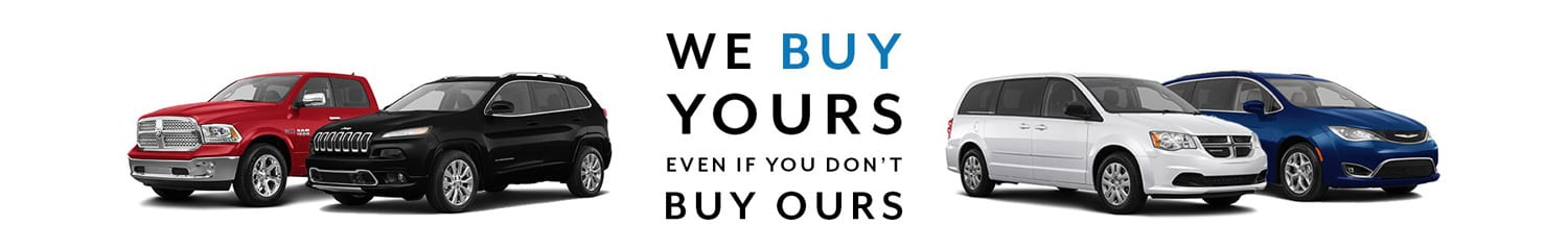 We Buy Yours