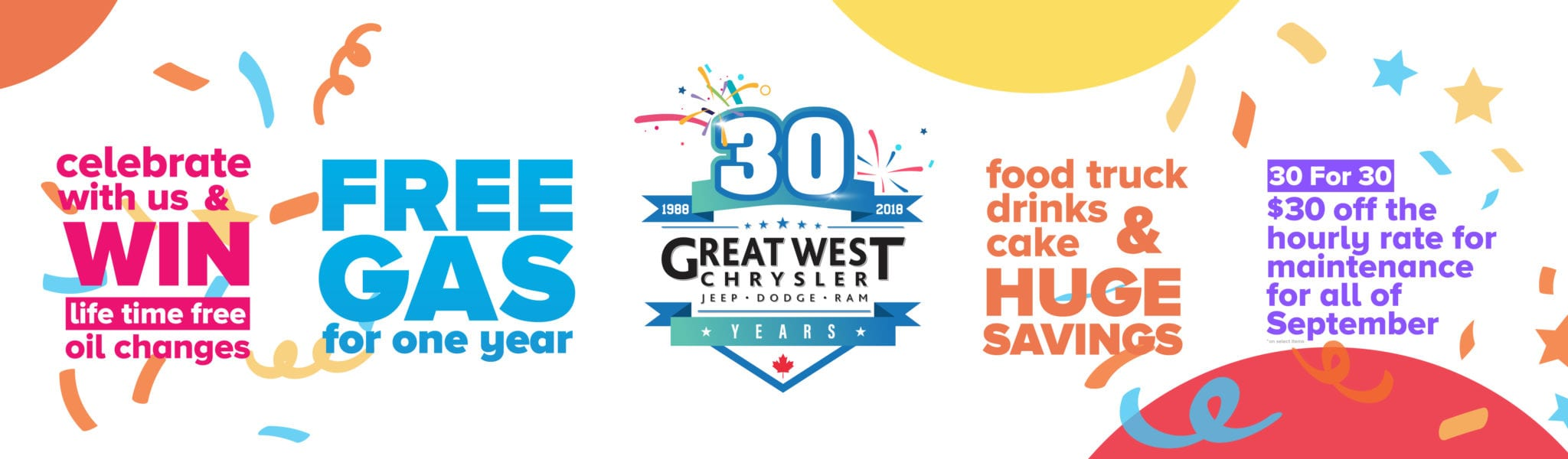 30 Years of Great West Chrysler