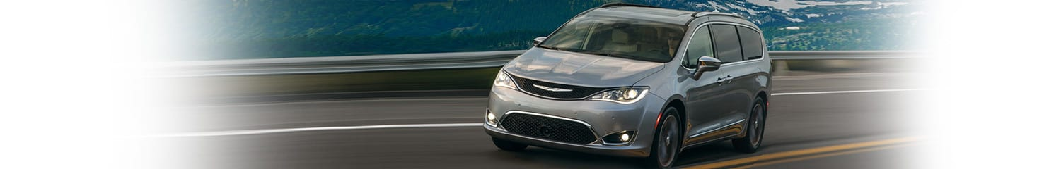 2018 Chrysler Pacifica driving on highway feature header image