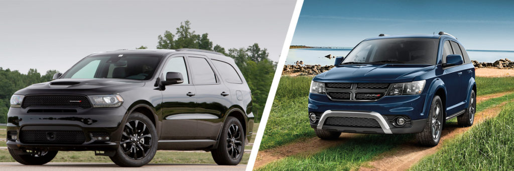 2019 Dodge Durango and Journey