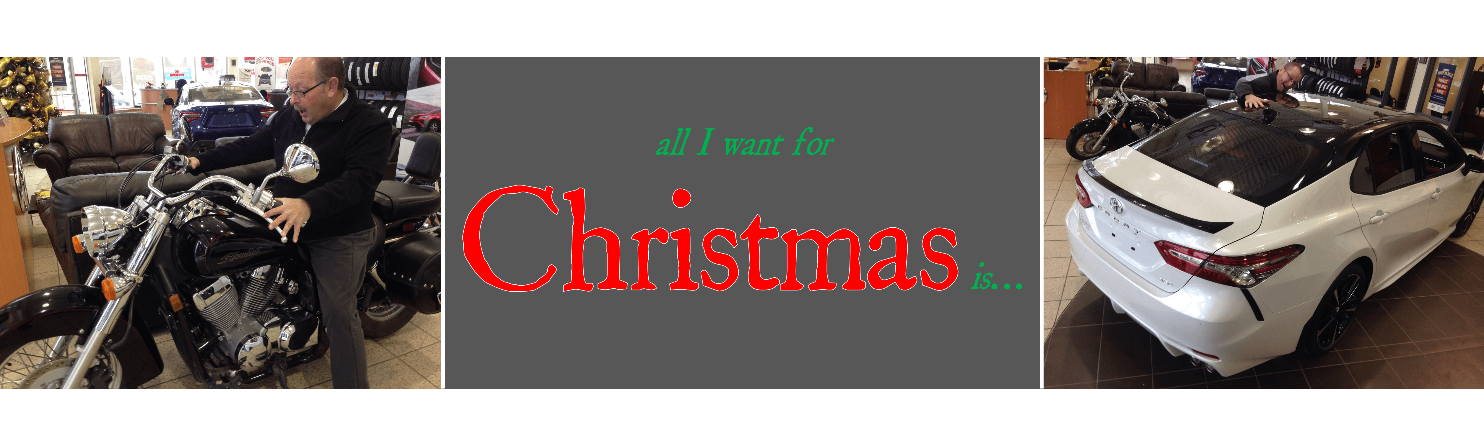 All I want for Christmas is&#8230&#x3B;