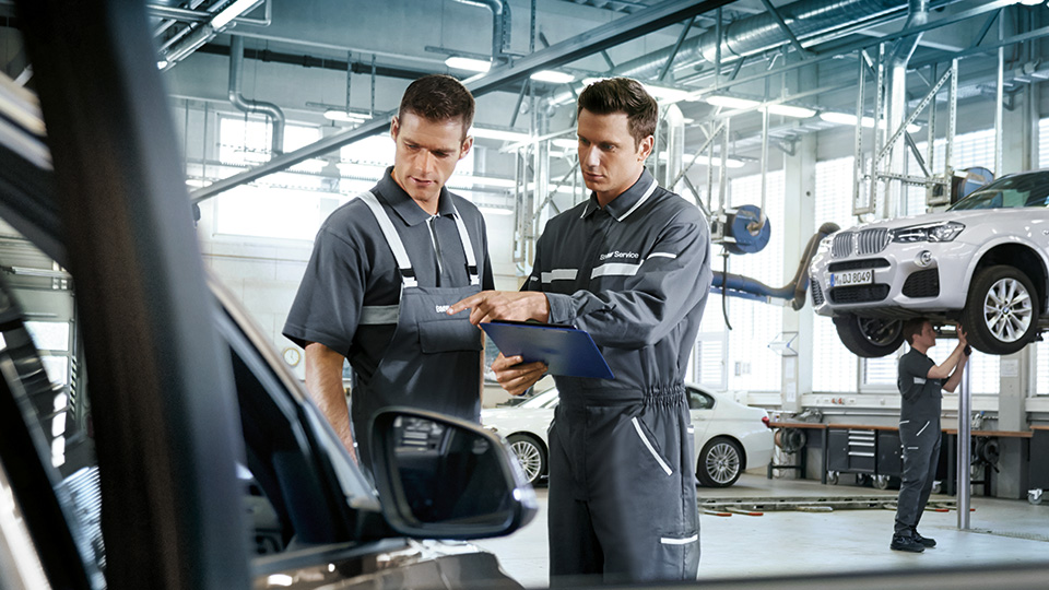 BMW Service No-Charge Scheduled Maintenance