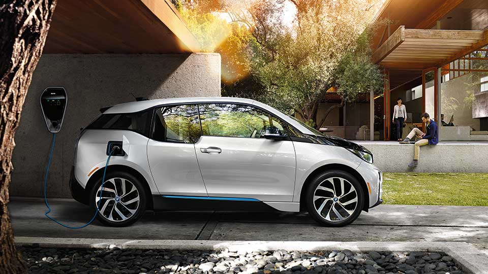 BMW i3 electric wall charger