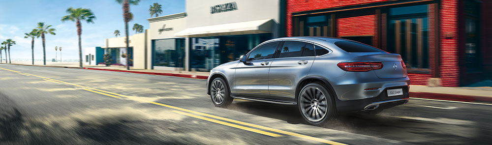 Mercedes-Benz GLC Coupe 2017 FR