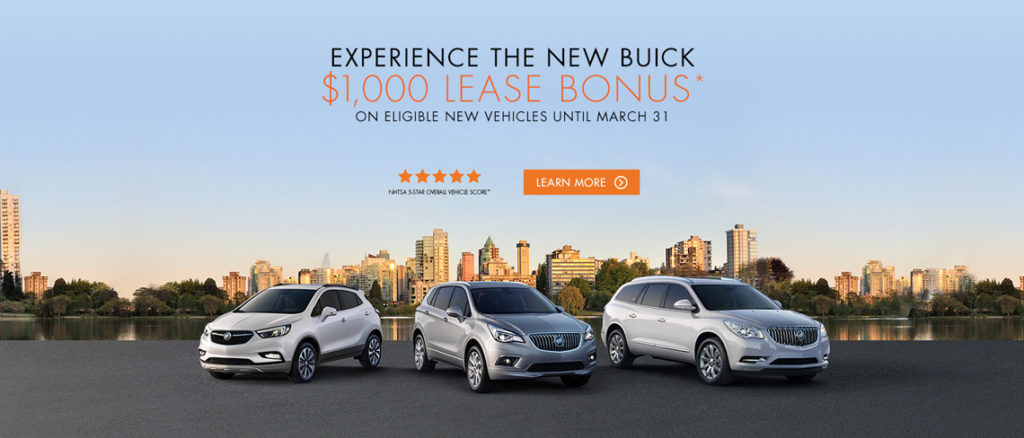 March Buick Offer