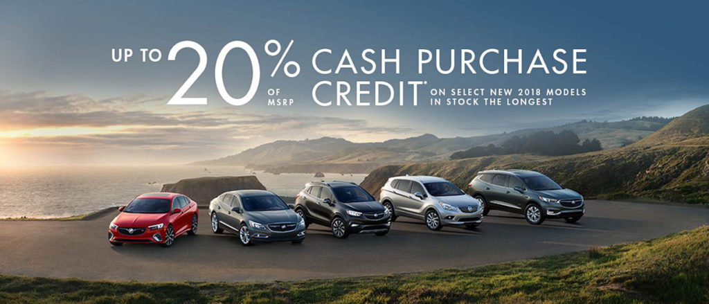 July Buick offer
