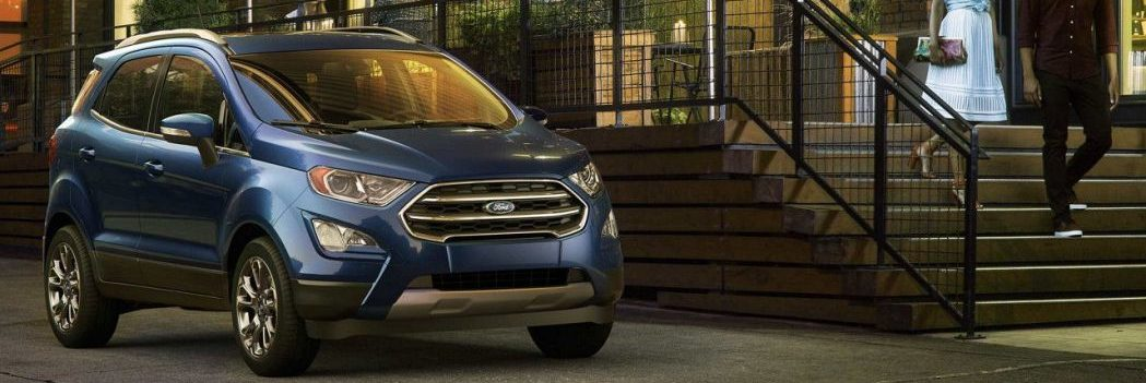 The All-New 2018 Ford Ecosport:  A Crossover Sweet-Spot