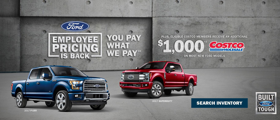 July Ford Truck Offer