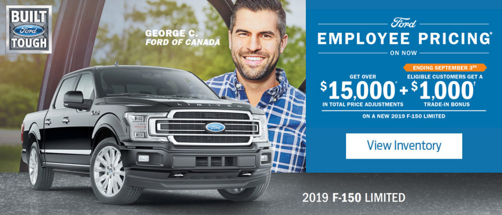 August Ford offer