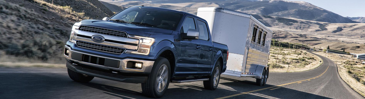 2017 Ford F-150 truck at Zender Ford