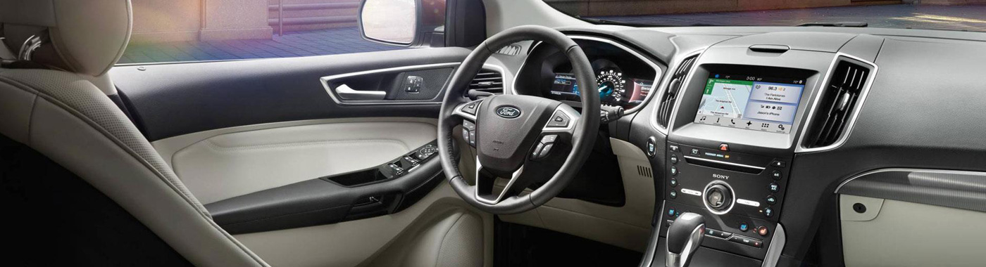 2017 Ford Edge interior view