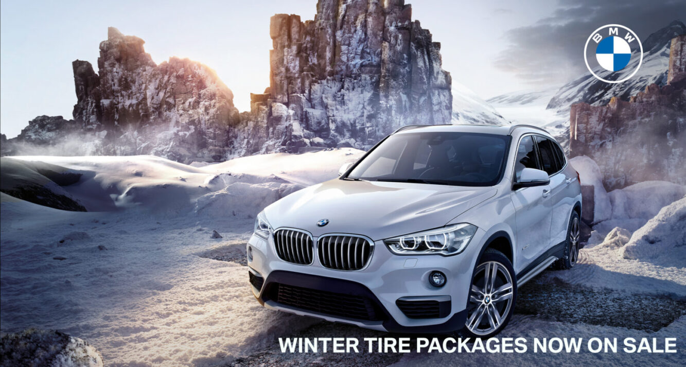 WINTER TIRE PACKAGES NOW ON SALE