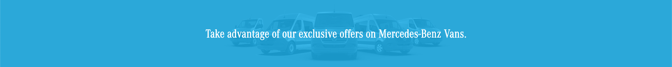 Mercedes-Benz Vans Offers – Eastern
