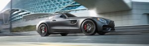 Mercedes-AMG GT Coupes side view
