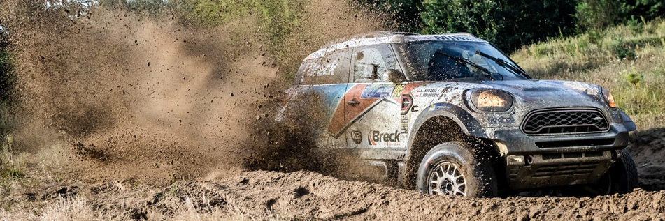 MINI at the Dakar Rally clouded in mud
