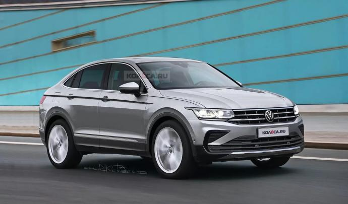 Vw Tiguan Coupe Rendering 1