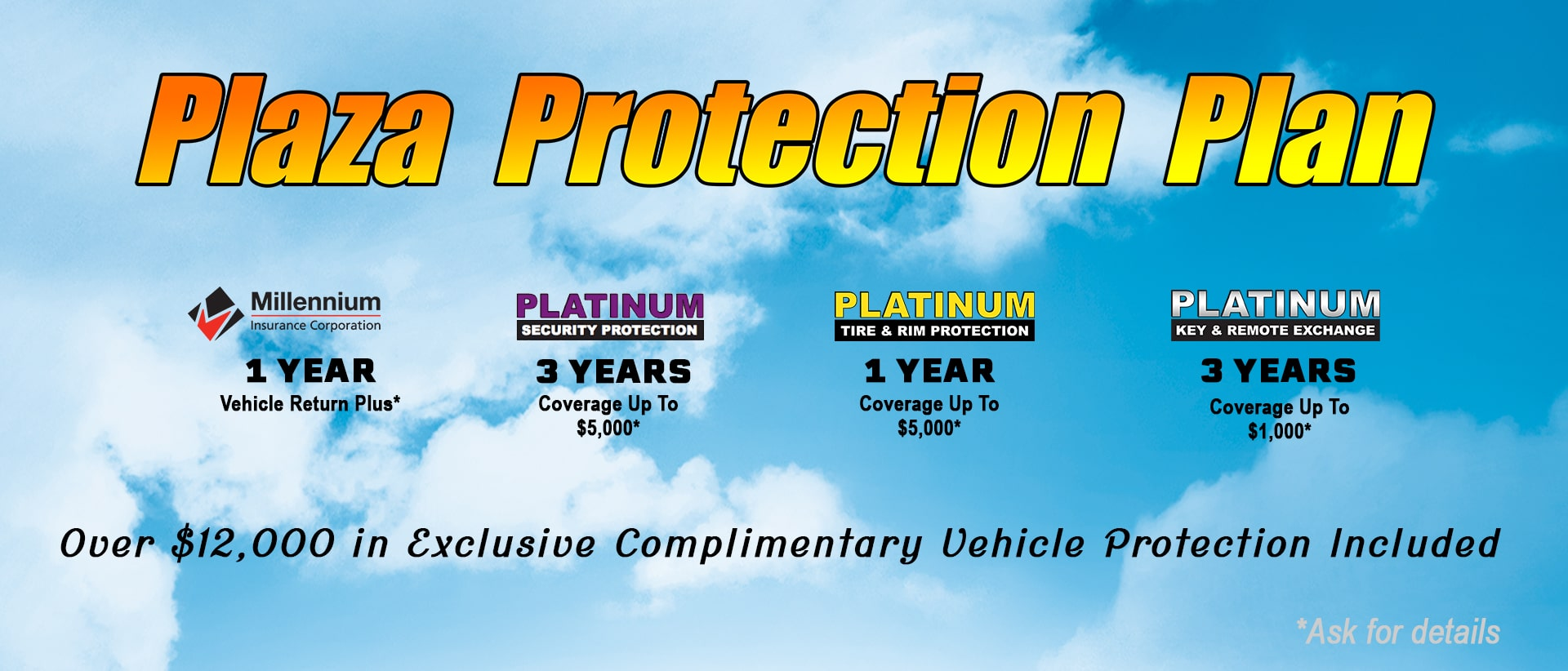 Plaza Protection Plan For Peace Of Mind Vehicle Ownership