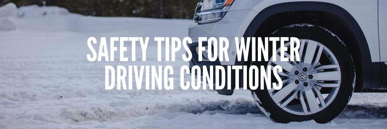 Safety Tips for Winter Driving Conditions