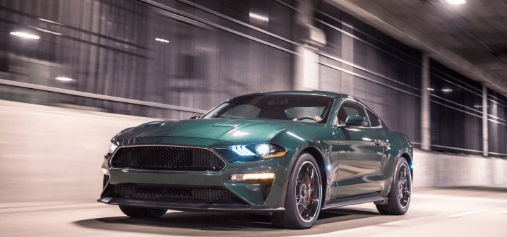 Limited Edition 2019 Mustang Bullitt Front Angle Shot