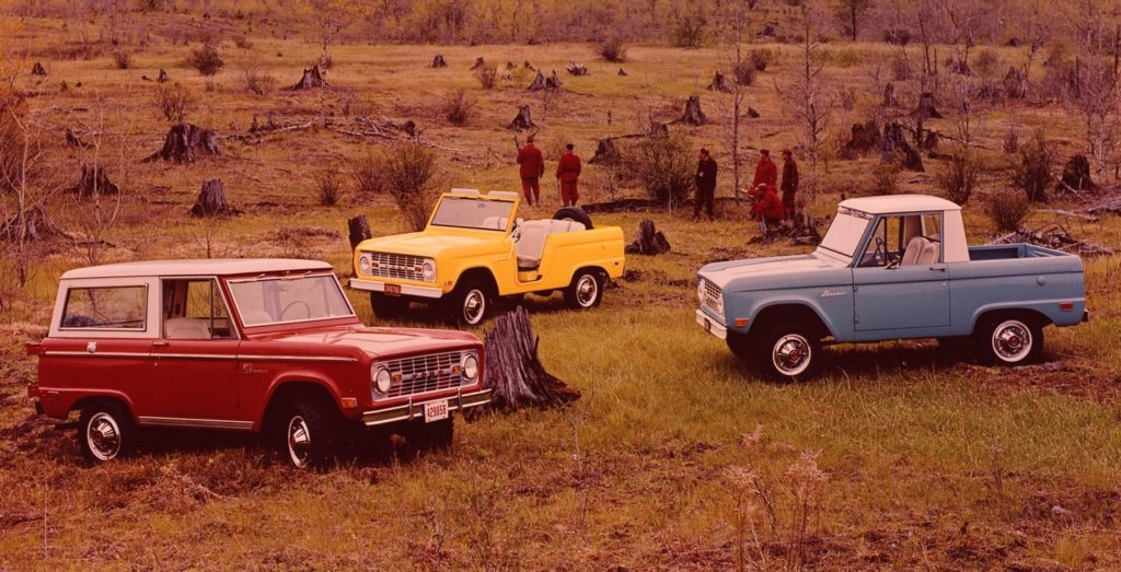 Image of 1969 Ford Bronco Lineup_Listowel Ford
