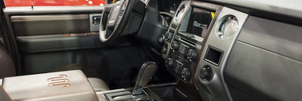 2015 Ford F-150 King Ranch Interior
