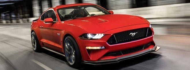 Red Ford Mustang Level II Driving