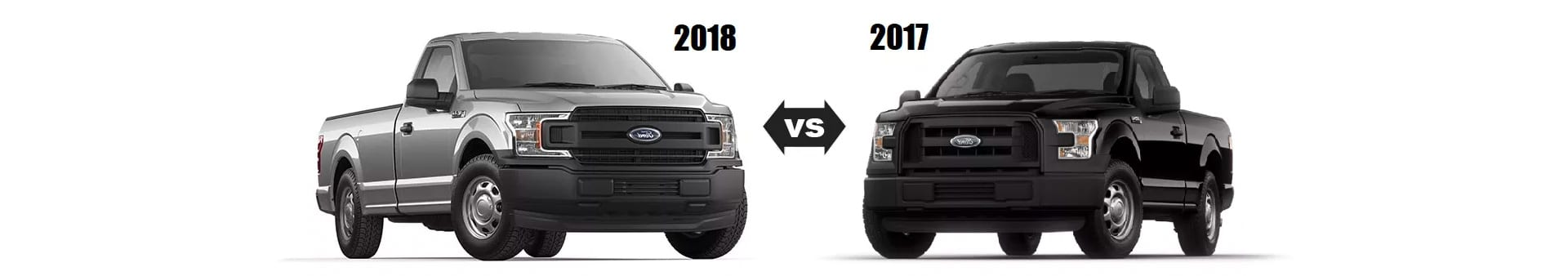 The 2018 Ford F-150 Compared to the 2017 F-150