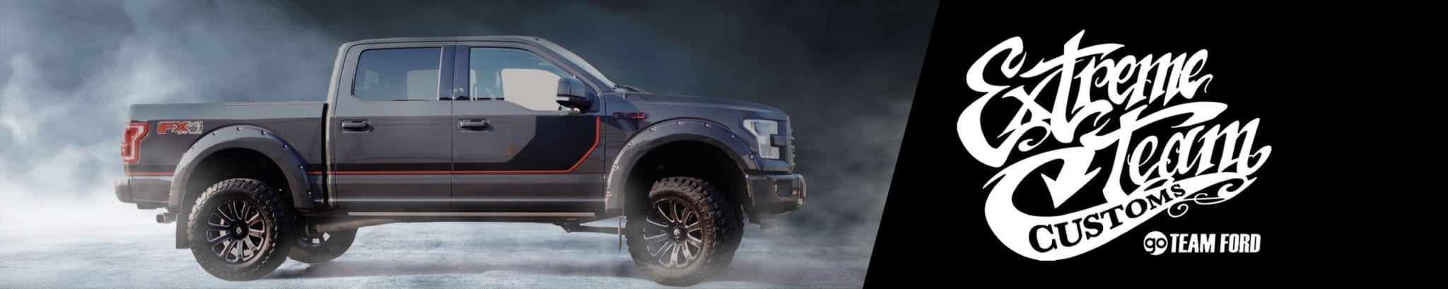 Ford Extreme Team Custom Lifted Trucks