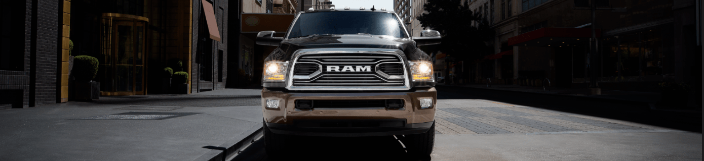 Front of the Ram 2500