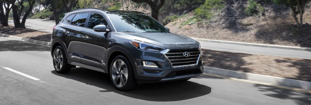 2020 hyundai tucson in grey