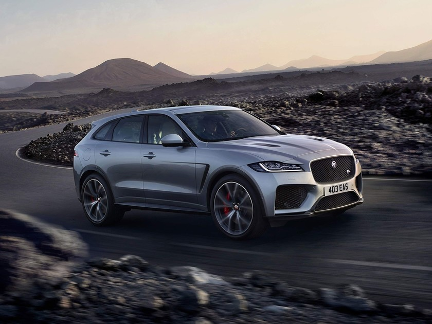 Jaguar F-Pace SVR at the Goodwood Festival of Speed