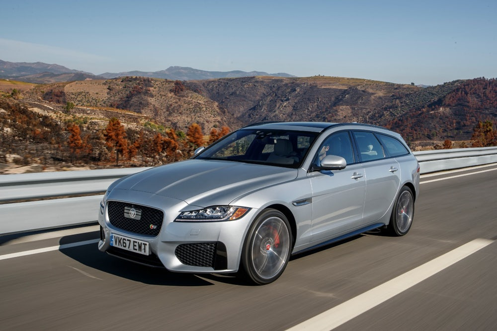 Review: 2018 Jaguar XF Sportbrake adds a nice caboose to the XF
