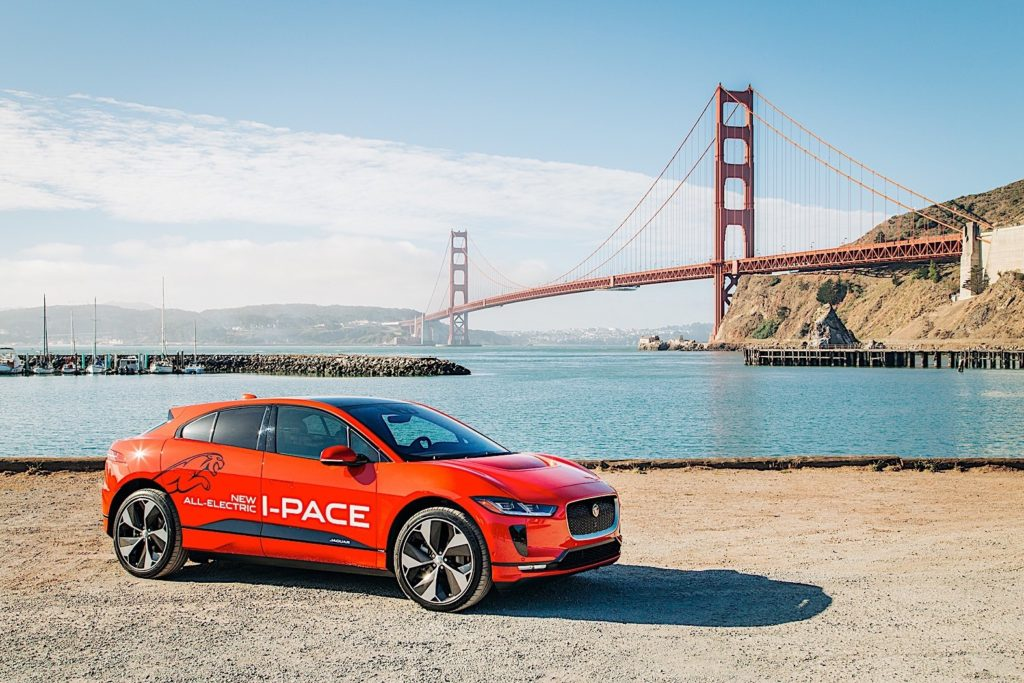 Jaguar Takes I-Pace On Multi-City Tour