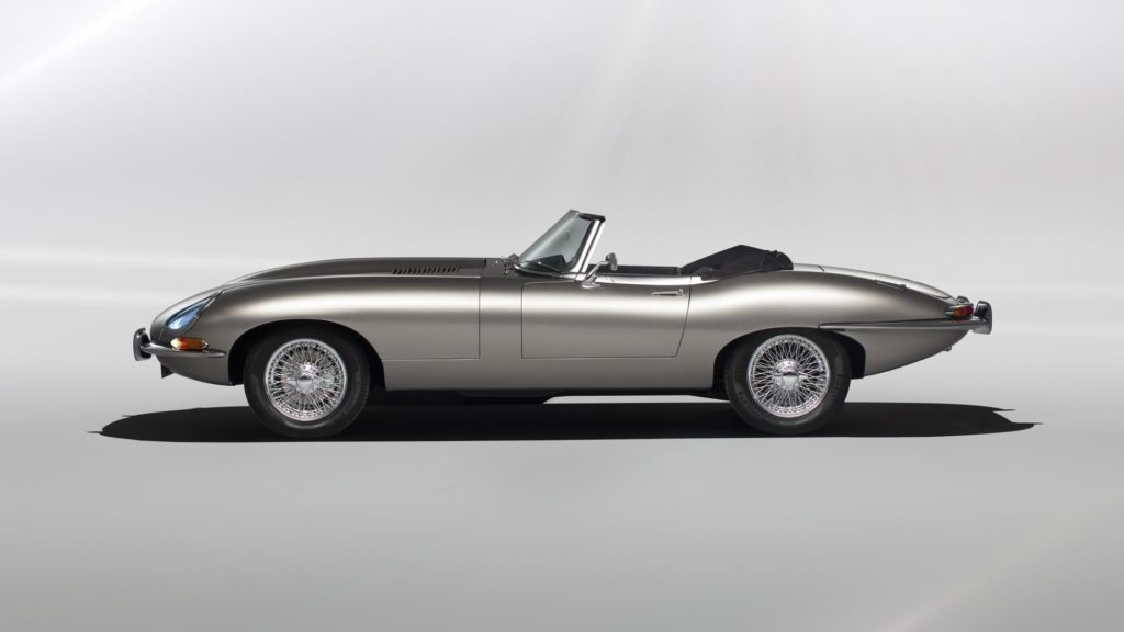 Jaguar's electric E-type Zero will cost GBP 300,000