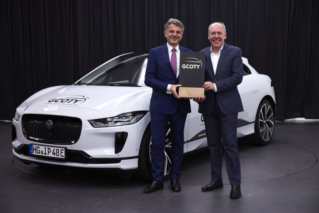 Jaguar I-PACE named Germany's Car of the Year